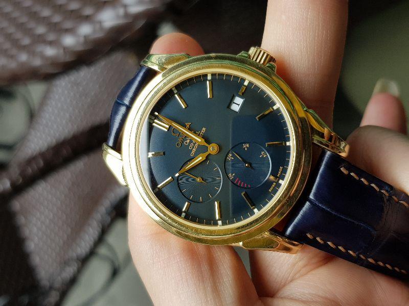 Đồng hồ Omega Deville Coaxial Chronometer 18K Gold Power Reserve-11
