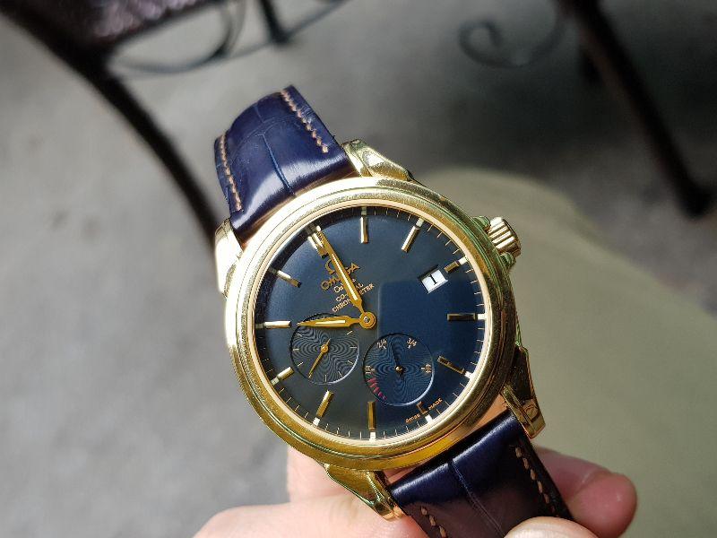 Đồng hồ Omega Deville Coaxial Chronometer 18K Gold Power Reserve-13