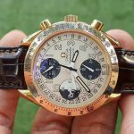 OMEGA Speedmaster Day Date 18k rose gold Automatic Chronograph