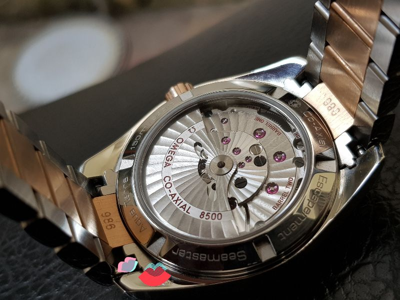 Omega AquaTerra 150 M Co-Axial 38,5mm Red gold & SS-17