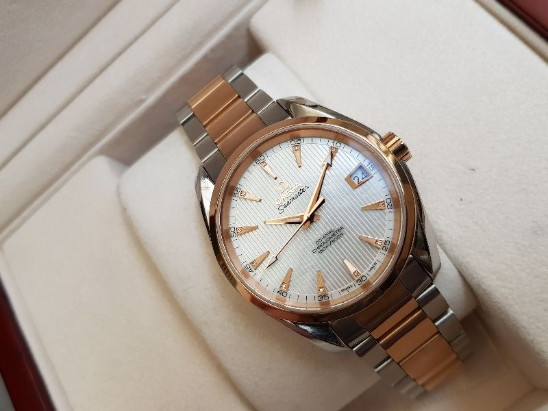 Omega AquaTerra 150 M Co-Axial 38,5mm Red gold & SS-2