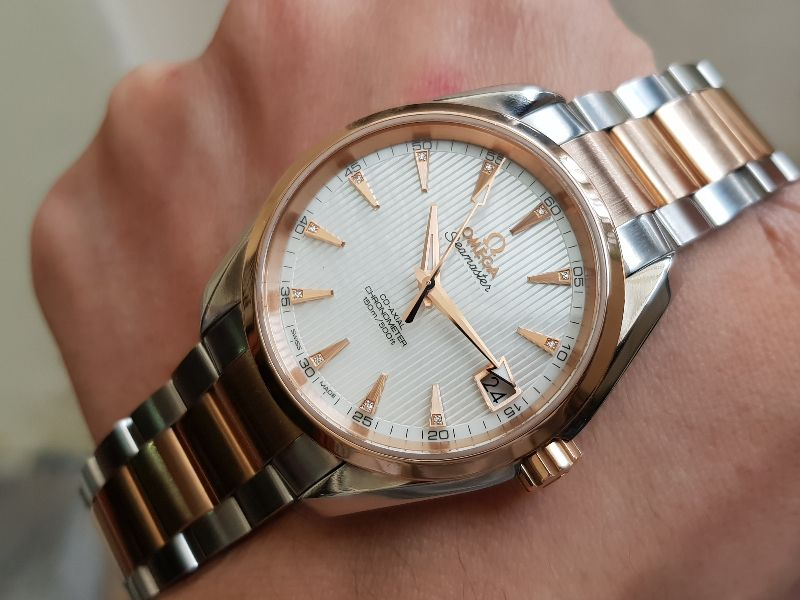 Omega AquaTerra 150 M Co-Axial 38,5mm Red gold & SS-4