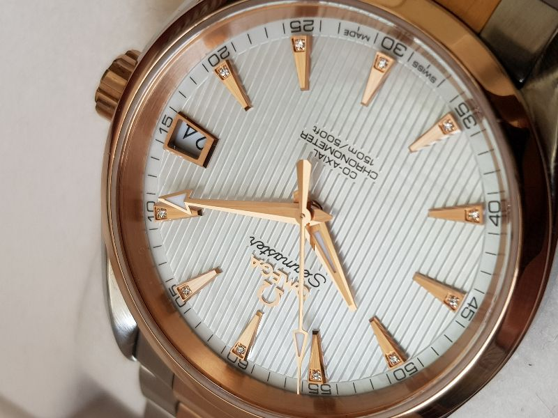 Omega AquaTerra 150 M Co-Axial 38,5mm Red gold & SS-9