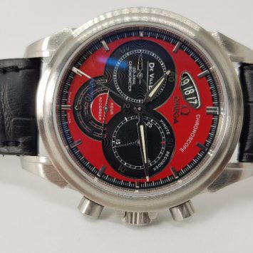 Omega Deville Chronoscope Coaxial Chronometer House Recorder4