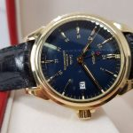 Omega Deville Coaxial Chronometer 18K Gold GMT