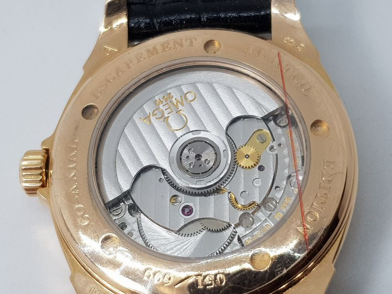 Omega Deville Coaxial Chronometer 18K Rose Gold Limited 699C-10