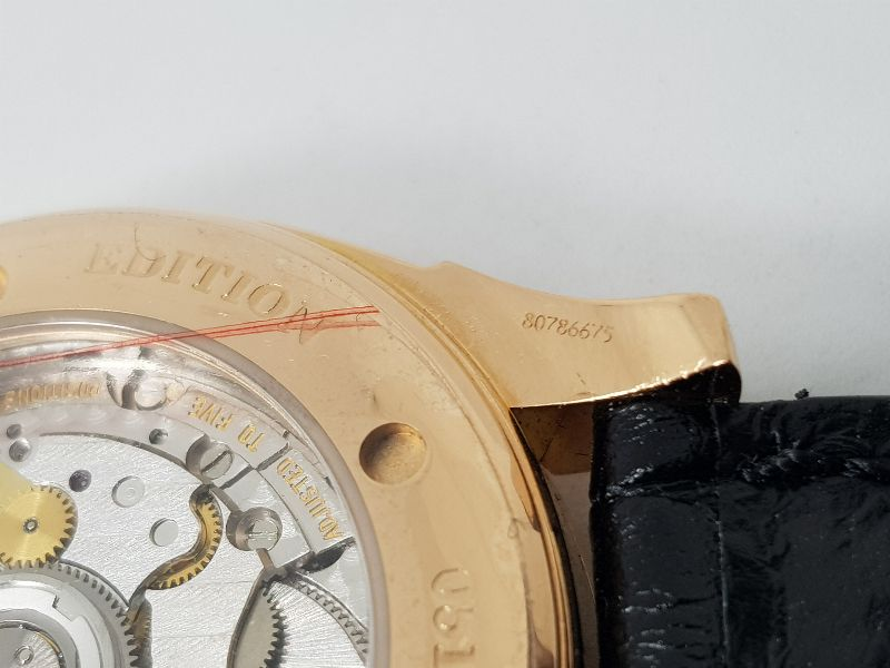 Omega Deville Coaxial Chronometer 18K Rose Gold Limited 699C-11