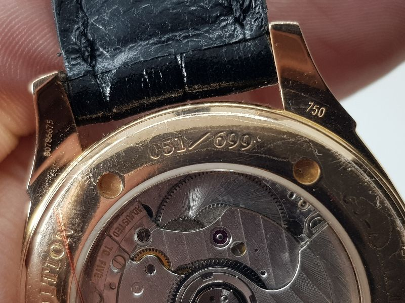 Omega Deville Coaxial Chronometer 18K Rose Gold Limited 699C-12