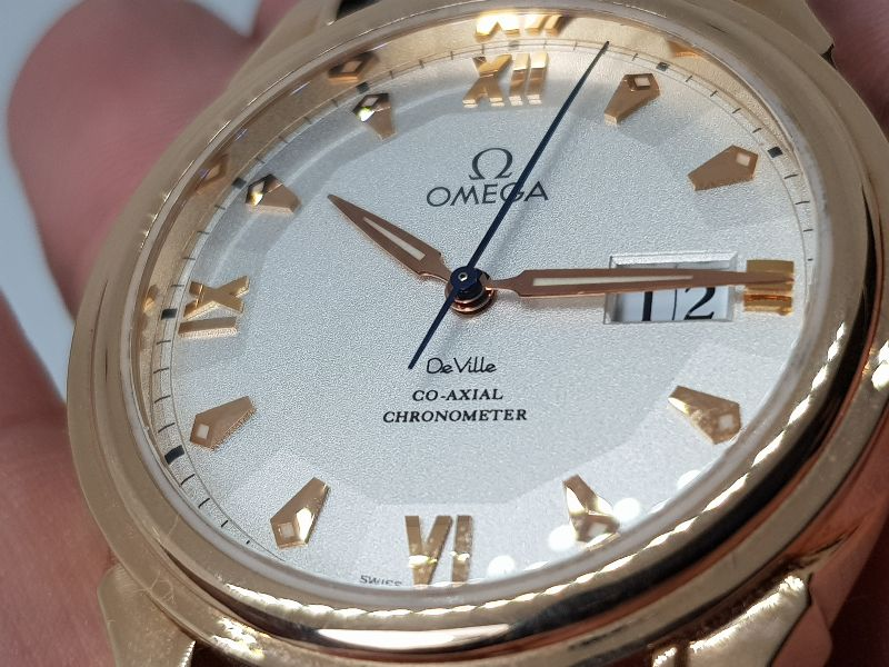 Omega Deville Coaxial Chronometer 18K Rose Gold Limited 699C-14