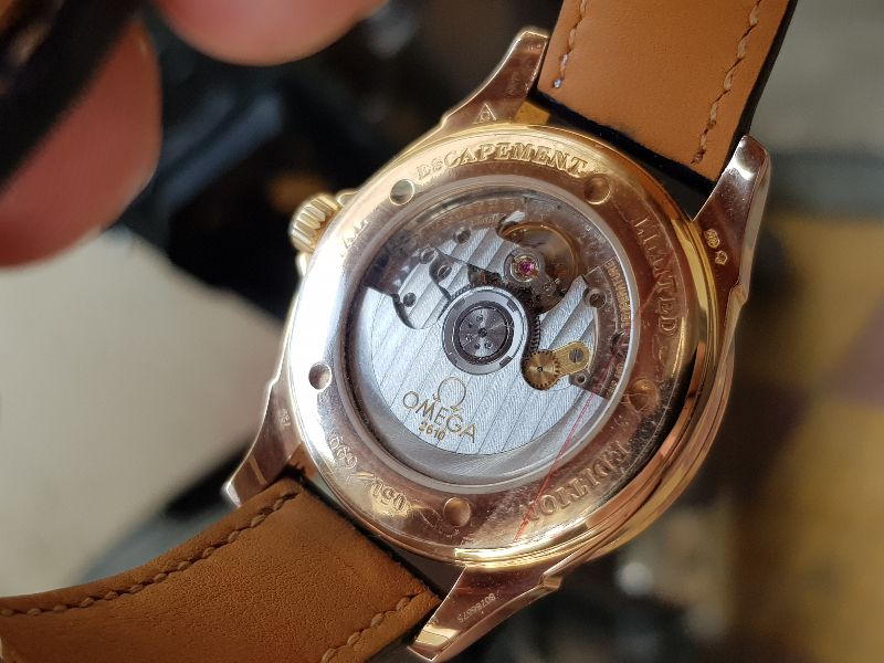 Omega Deville Coaxial Chronometer 18K Rose Gold Limited 699C-7
