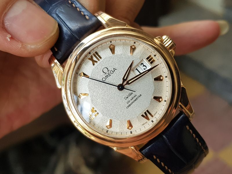 Omega Deville Coaxial Chronometer 18K Rose Gold Limited 699C