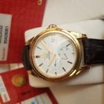 Omega Deville Coaxial Chronometer 18K Rose Gold Power Reserve full box,like new-2