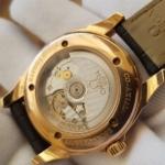 Omega Deville Coaxial Chronometer 18K Rose Gold Power Reserve full box,like new-6