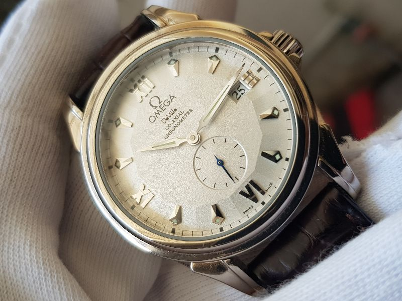 Omega Deville Coaxial Chronometer 18K white Gold Limited 699c -2