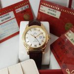 Omega Deville Coaxial Chronometer 18K yellow Gold Limited 699c-1