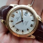 Omega Deville Coaxial Chronometer 18K yellow Gold Limited 699c-3