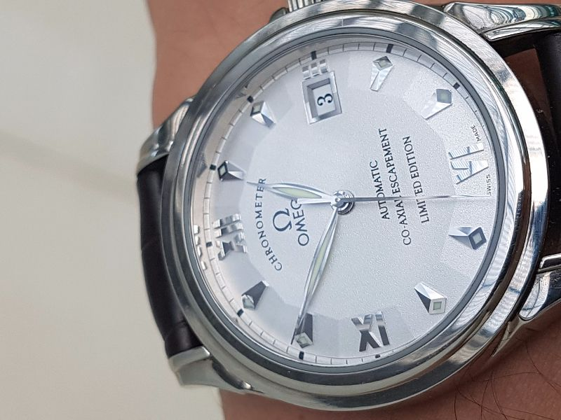 Omega Deville Coaxial Chronometer Limited Edition