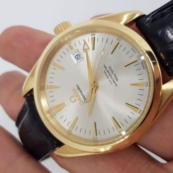 Omega SeaMaster Aquaterra Co-Axial 18k Gold