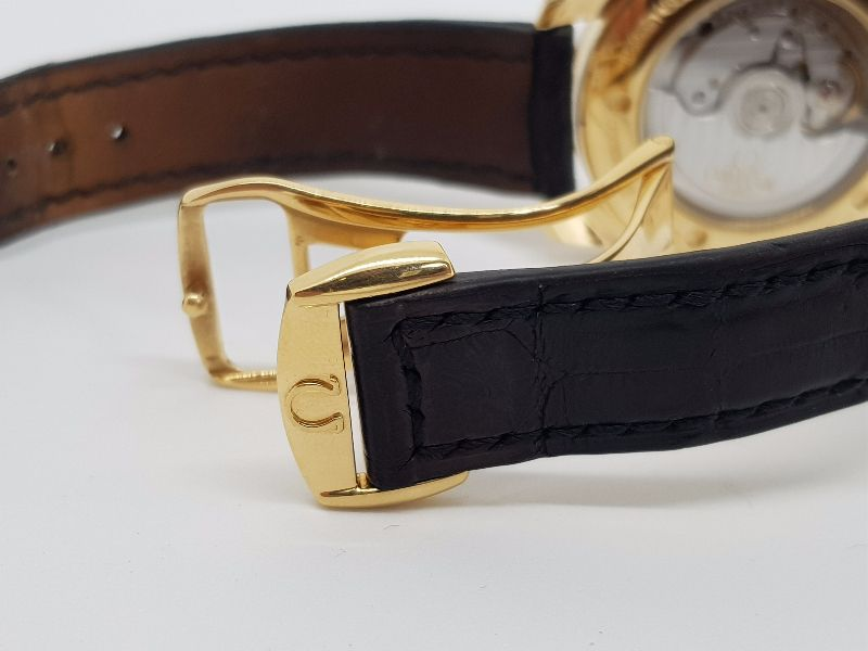 Omega SeaMaster Aquaterra Co-Axial 18k Gold16