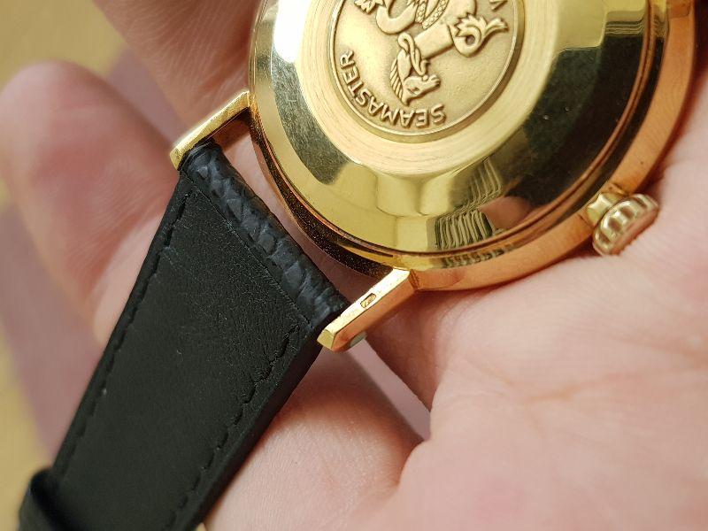 Omega SeaMaster Deville 18k Gold10