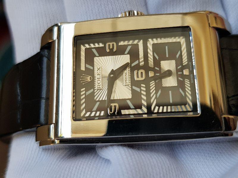 Rolex Celini Prince 5443 18k white gold-4