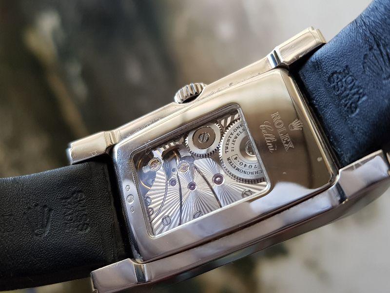 Rolex Celini Prince 5443 18k white gold-8