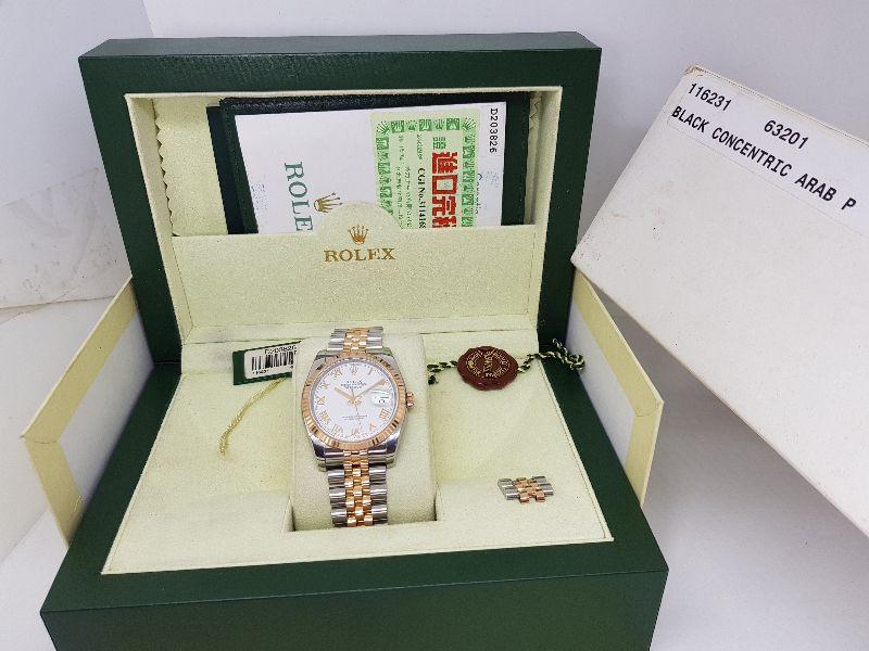 Rolex DateJust 116231-2