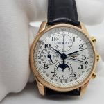 Longines Master Collection Full lịch Trăng sao 18k rose gold -7